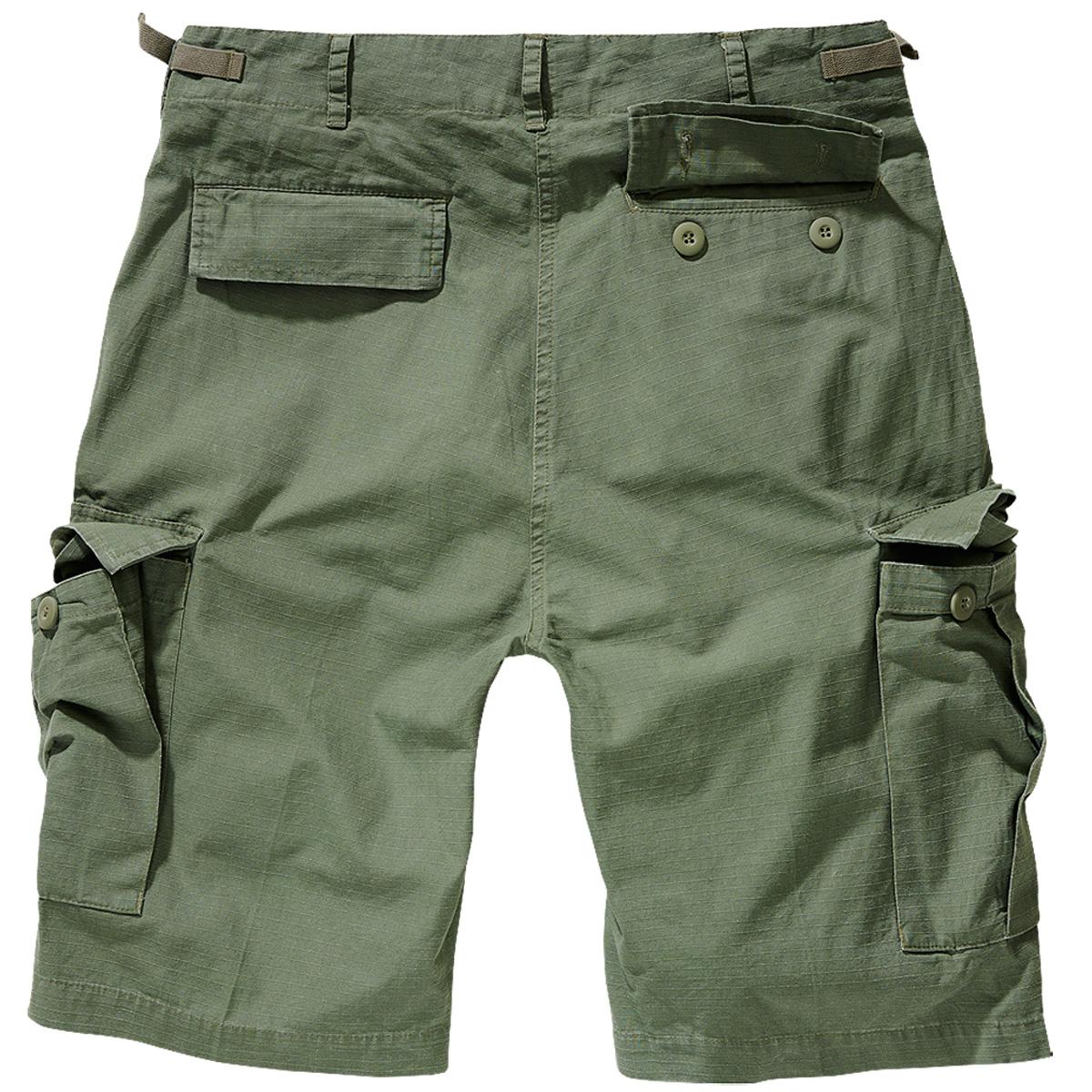 Brandit-BDU-Ripstop-Shorts-S-7XL-Army-Cargo-Bermuda-Outdoor-Short-kurze-Hose miniatura 5