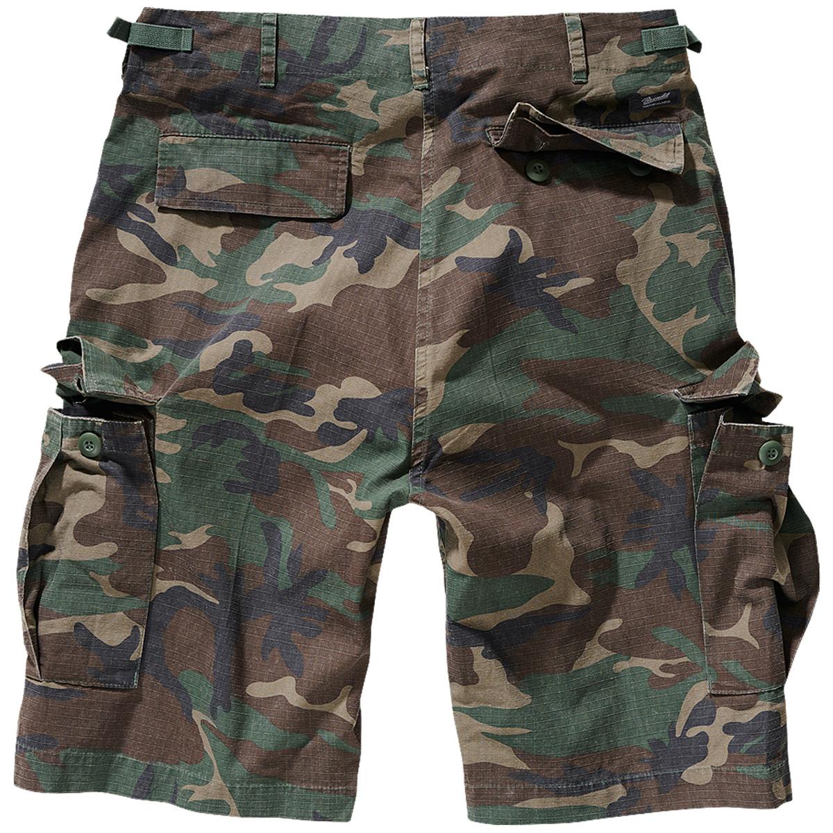 Brandit-BDU-Ripstop-Shorts-S-7XL-Army-Cargo-Bermuda-Outdoor-Short-kurze-Hose miniatura 15