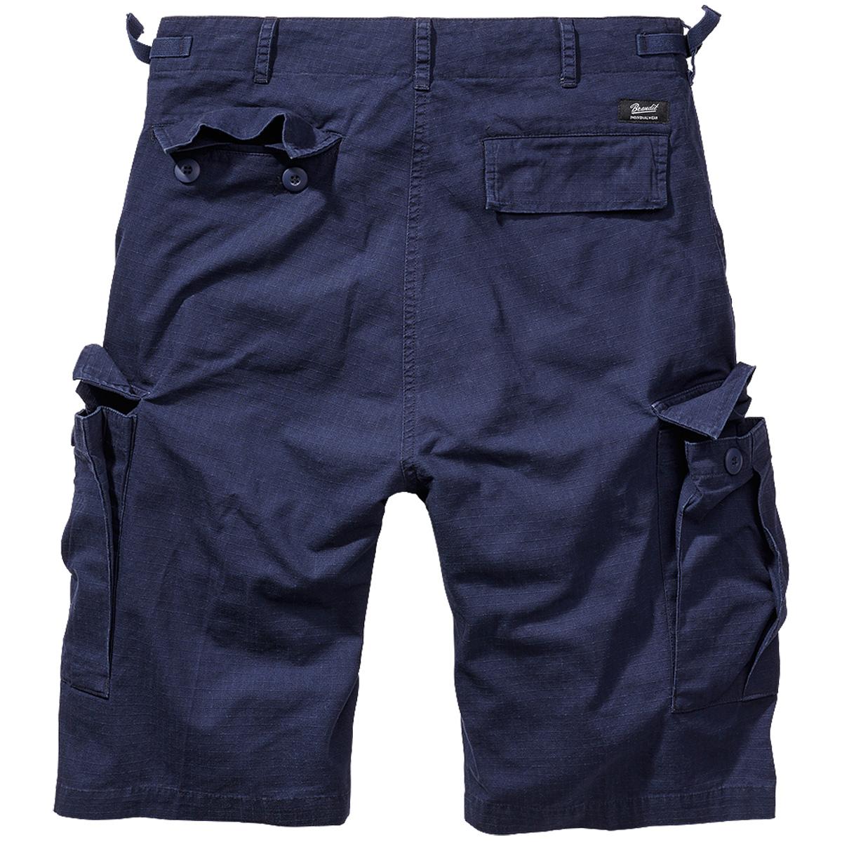 Brandit-BDU-Ripstop-Shorts-S-7XL-Army-Cargo-Bermuda-Outdoor-Short-kurze-Hose miniatura 7