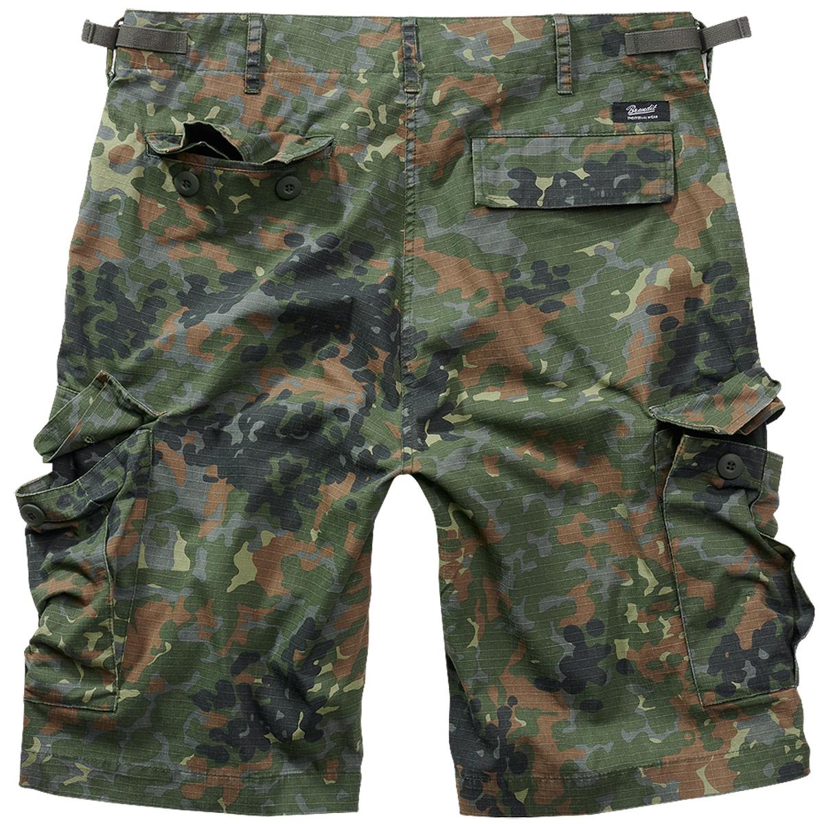 Brandit-BDU-Ripstop-Shorts-S-7XL-Army-Cargo-Bermuda-Outdoor-Short-kurze-Hose miniatura 11