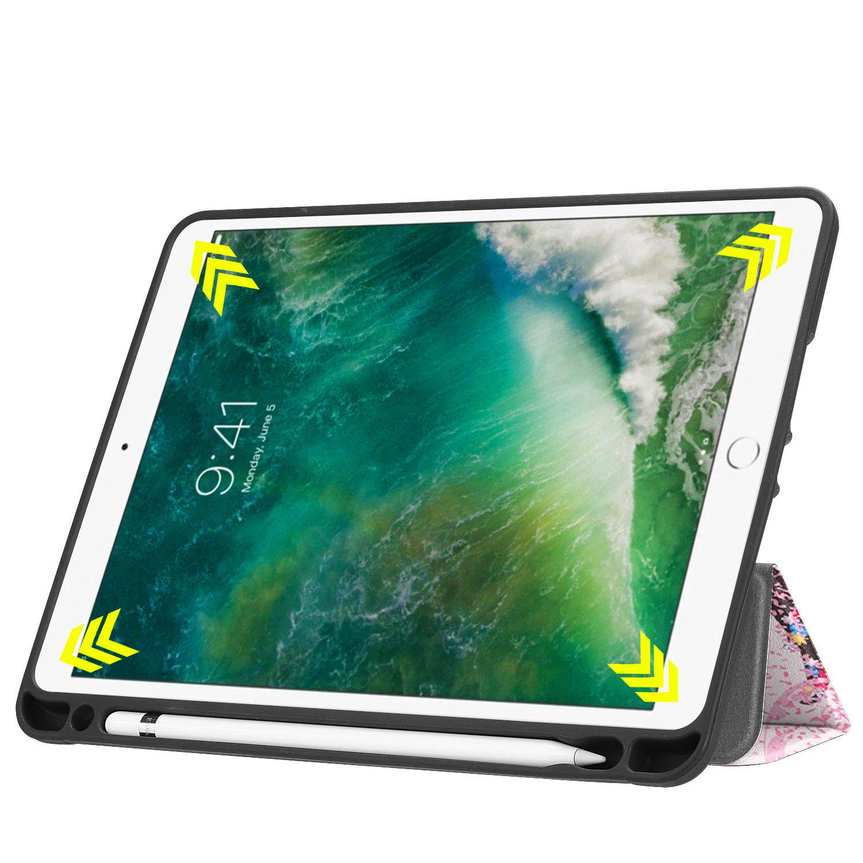 Custodia-per-Apple-iPad-9-7-2017-2018-Custodia-Protettiva-Slim-Case-Smart-Cover-Astuccio-Custodia miniatura 47