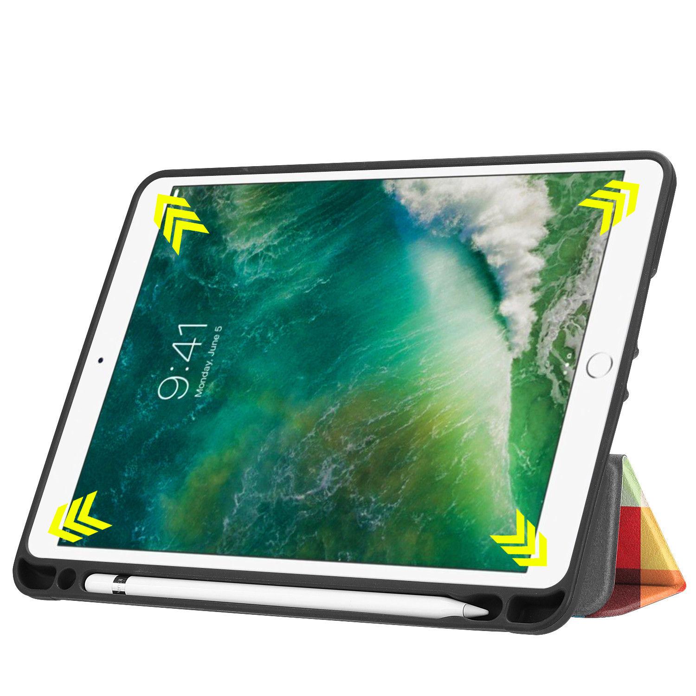 Custodia-per-Apple-iPad-9-7-2017-2018-Custodia-Protettiva-Slim-Case-Smart-Cover-Astuccio-Custodia miniatura 27