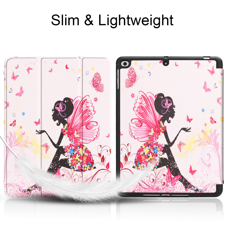 Custodia-per-Apple-iPad-9-7-2017-2018-Custodia-Protettiva-Slim-Case-Smart-Cover-Astuccio-Custodia miniatura 44