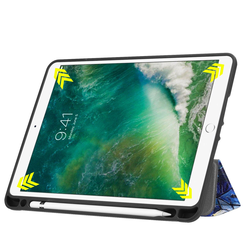 Custodia-per-Apple-iPad-9-7-2017-2018-Custodia-Protettiva-Slim-Case-Smart-Cover-Astuccio-Custodia miniatura 57
