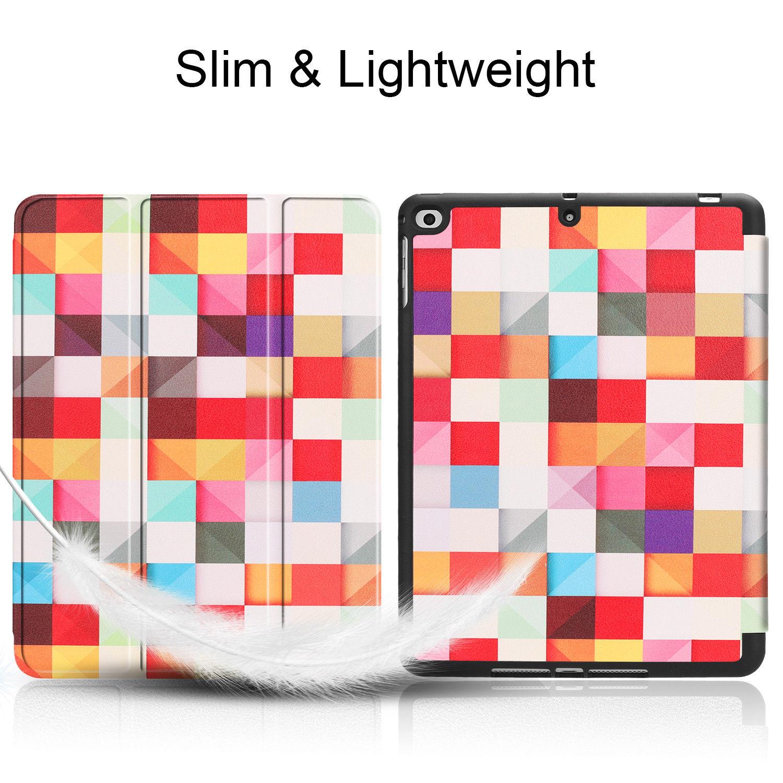 Custodia-per-Apple-iPad-9-7-2017-2018-Custodia-Protettiva-Slim-Case-Smart-Cover-Astuccio-Custodia miniatura 24