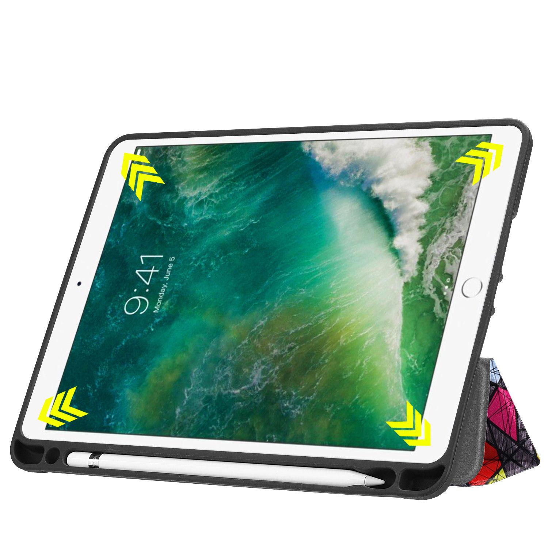 Custodia-per-Apple-iPad-9-7-2017-2018-Custodia-Protettiva-Slim-Case-Smart-Cover-Astuccio-Custodia miniatura 67