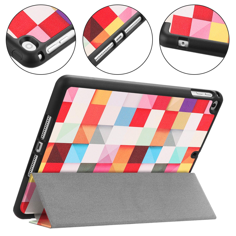 Custodia-per-Apple-iPad-9-7-2017-2018-Custodia-Protettiva-Slim-Case-Smart-Cover-Astuccio-Custodia miniatura 25