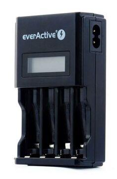 everActive NC 450 Akku Ladegerät Schnelladegerät 4 Silverline AA Akkus