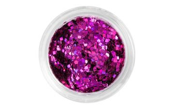 Nailart Square Pink Nail Art Nageldesign Glitzer Shapes Glitter Ebay