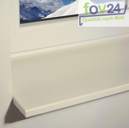 Werzalit Innen Fensterbank Compact S18 Weiß, glatt - seidenmatt inkl ...