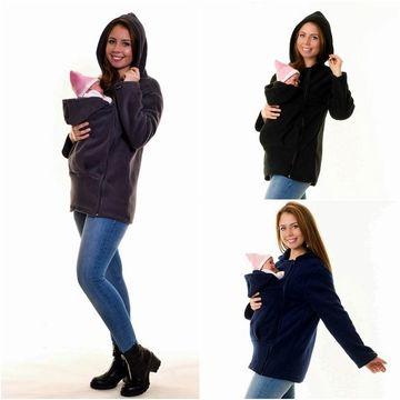 Women's Clothing Tragejacke Für Mama & Baby Tragepullover Für Tragetuch Umstandsjacke