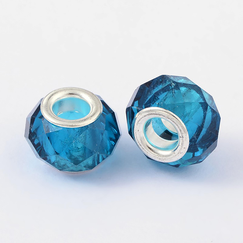European-Beads-Facettiert-Anhaenger-Glas-Grosslochperlen-Farbwahl-13x8x5-mm
