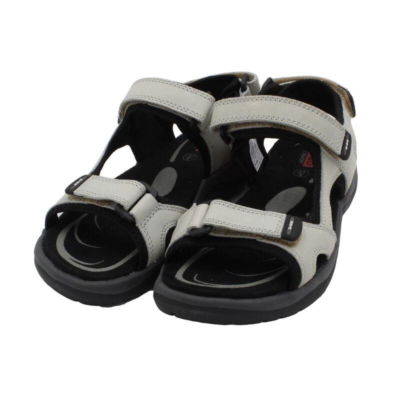 Details zu 2Go COMFORT Damen Leder Schuhe Sport Sandalen71720 4 beige Trekking Sandalen