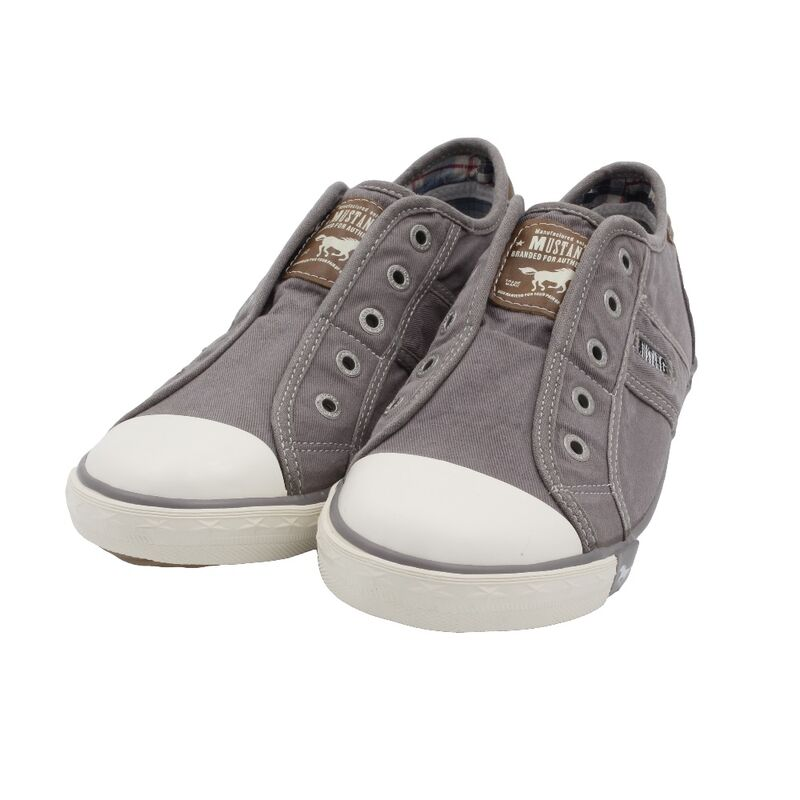 Slip Grausilbergrau Unisex Shoes Sneaker On Kinder Schuhe Mustang xCeWrBod