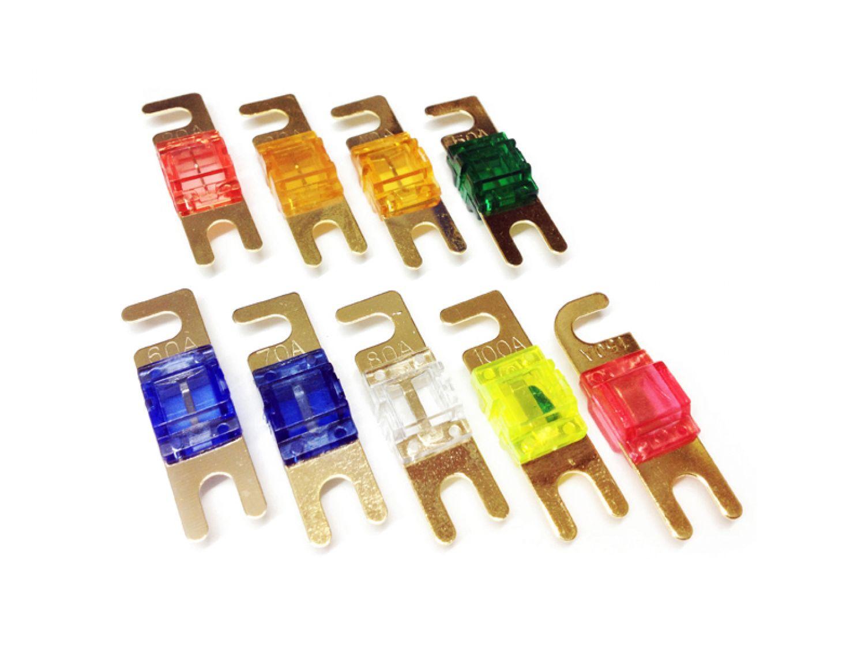 25 Ampere Mini-ANL-Flachsicherung