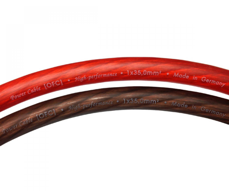 25mm² Stromkabel TopQuality 100/% OFC Kupfer Powerkabel Massekabel Batteriekabel