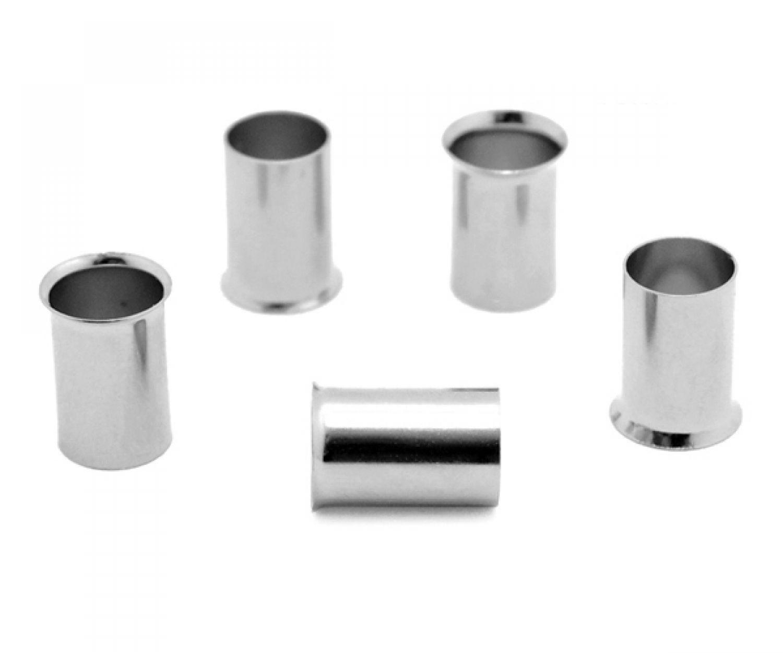 100 Stück Aderendhülsen blank unisoliert 25 mm² 15 mm lang Aderendhülse
