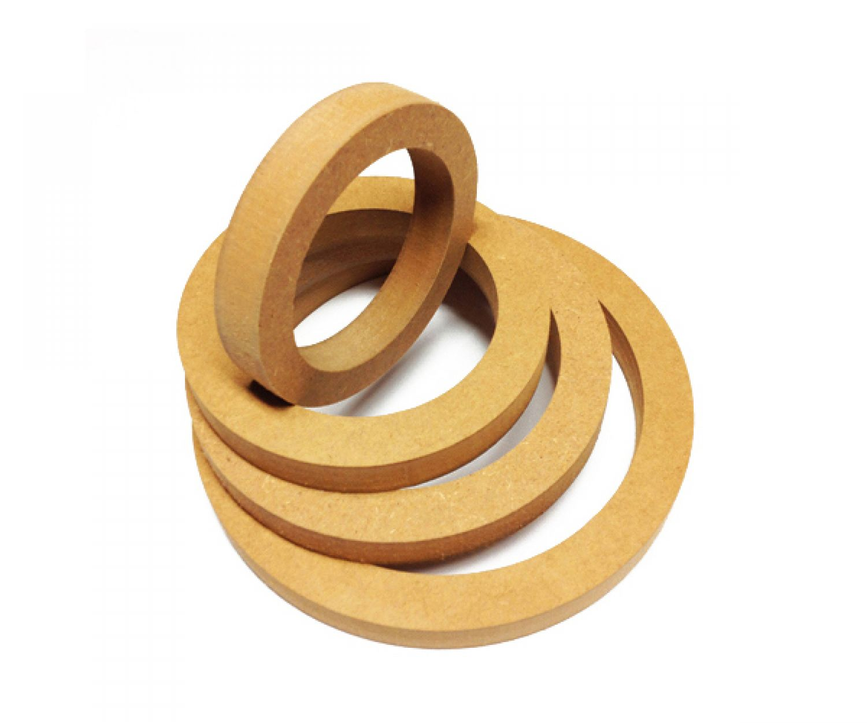 25mm 19 Ringe Holzringe Lautsprecher Basteln Basteln