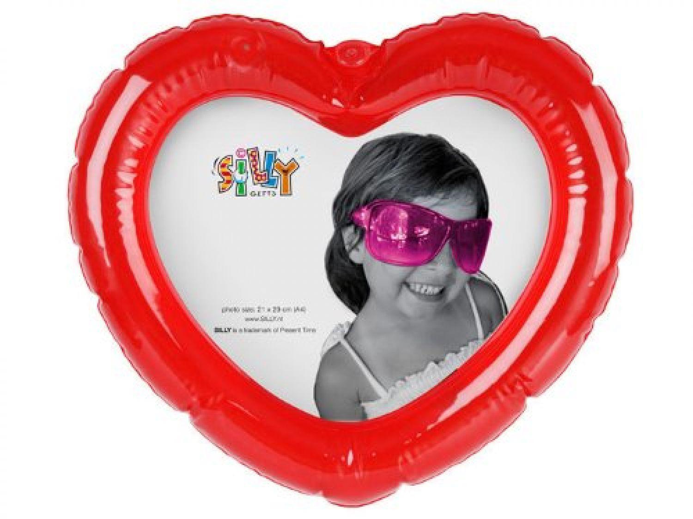Aufblasbarer Foto Bilderrahmen Herz Fotohalter rot aufblasbar mit 3 ...