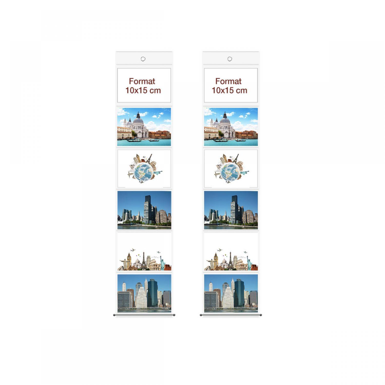 13 x 18 Fototaschen für 12 Fotos Fotowand Fotovorhang Fotogalerie Bilderwand