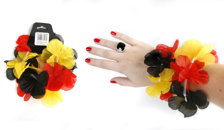 hawaii blumen bl ten armband bl tenkette armkette fussball. Black Bedroom Furniture Sets. Home Design Ideas