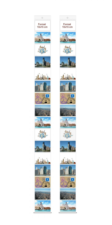 Fotovorhang für 20 Fotos 10 x 15 NEU OVP