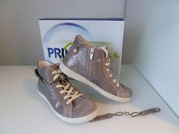 2541d4e2804450 Primigi Schuhe Kinderschuhe Mädchen Halbschuhe Leder Metallic 71734 77 Gr.35