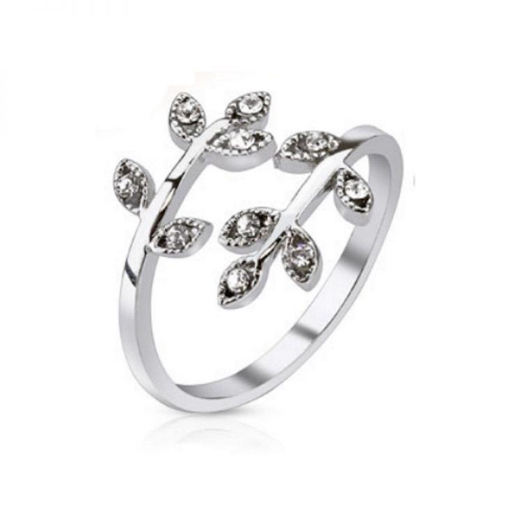 Zehenring Zehring Kristall Elegant Fuss Schmuck Ring 925 Silber Damen Kinder