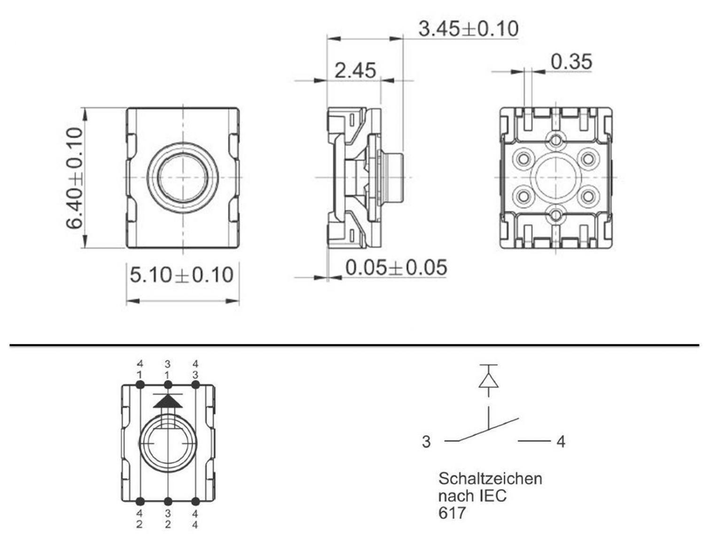 Ausgezeichnet Mikroschalter Symbol Bilder - Schaltplan Serie Circuit ...