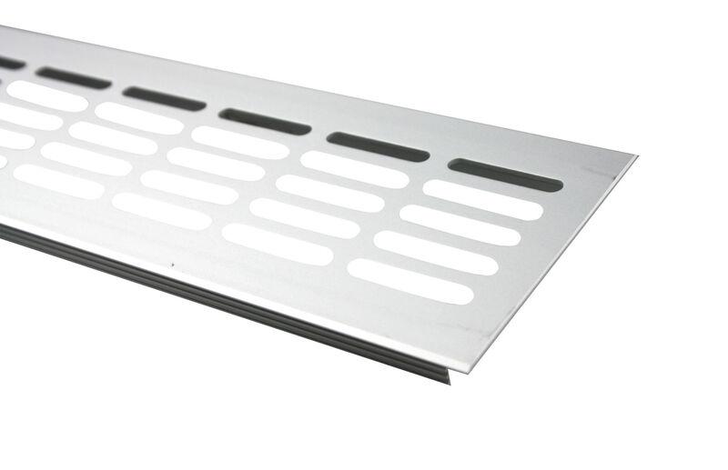 Aluminium Lüftungsgitter Stegblech Lüftung diverse Farben und Maße 480mm lang