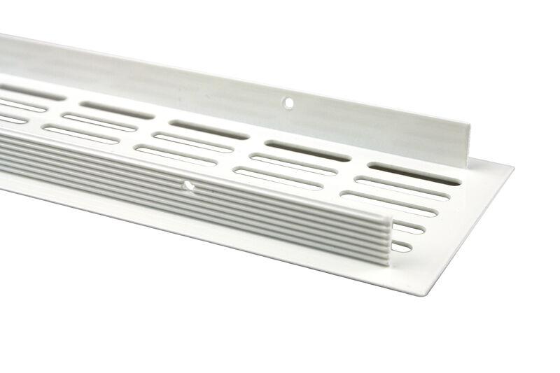 Silber eloxiert Aluminium L/üftungsgitter Stegblech L/üftung 100mm x 800mm in verschiedenen Farben
