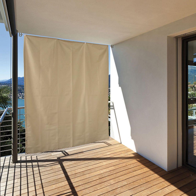 Balkon Sichtschutz Sonnenschutz Vorhang Seitenmarkise Sonnensegel