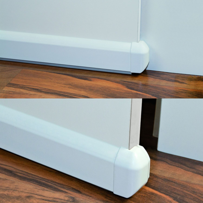 automatik t rdichtung stoppt zugluft t r dichtung gegen durchzug durchzugstopp ebay. Black Bedroom Furniture Sets. Home Design Ideas