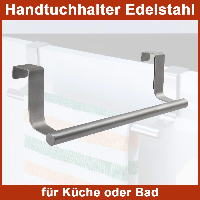 Handtuchstange Handtuchhalter zum einhängen Tür Handtuch Küche Bad ...