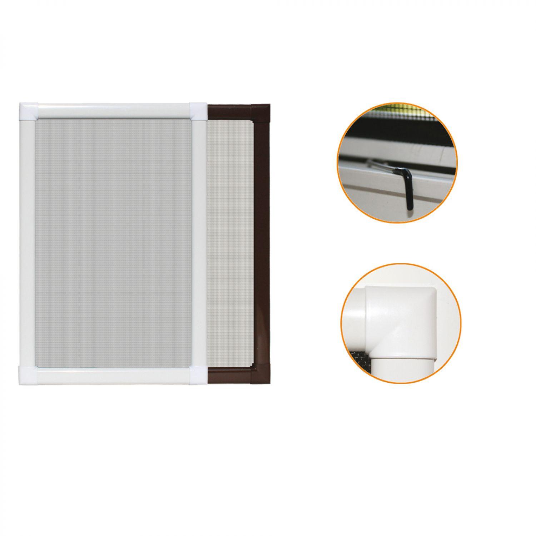 Insektenschutz Fliegengitter für Fenster Alu Bausatz Fliegen Mücken ...