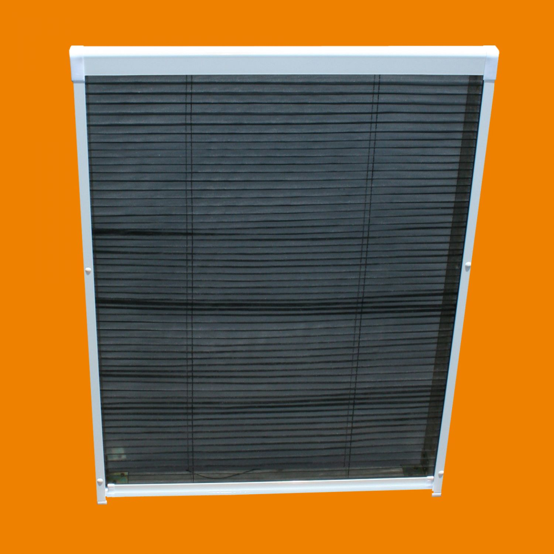 insektenschutz dachfenster plissee fliegengitter rollo m ckenschutz alu rahmen ebay. Black Bedroom Furniture Sets. Home Design Ideas