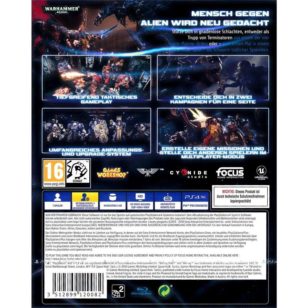Space Hulk Tactics für Sony PS4 Spiel Playstation 4 NEU ...