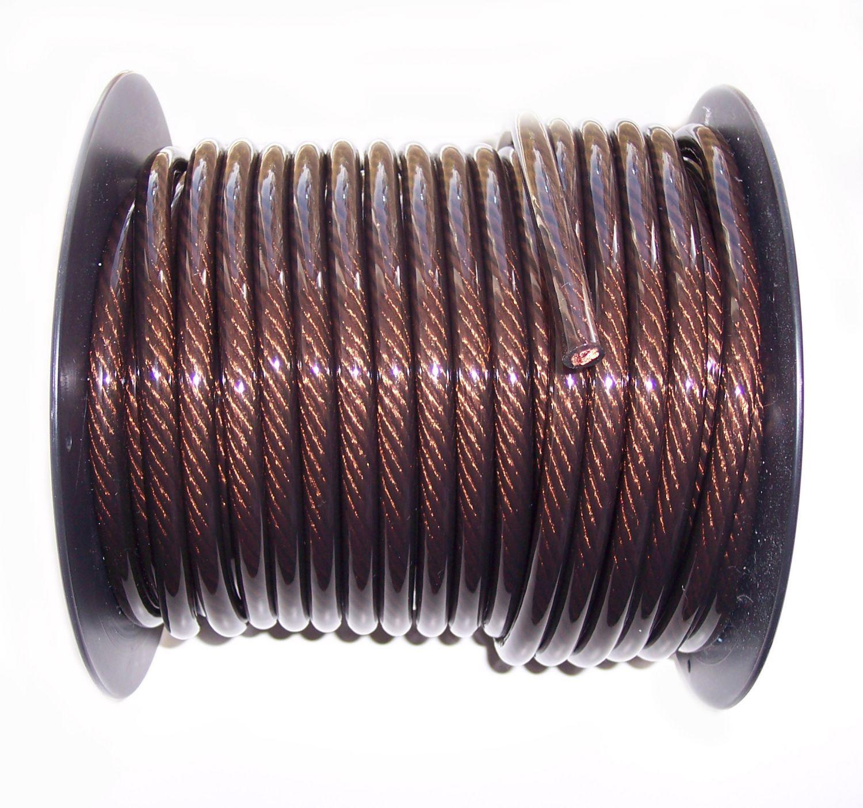 20 mm² OFC Kupfer Stromkabel Batteriekabel Ratho Meterware schwarz ...