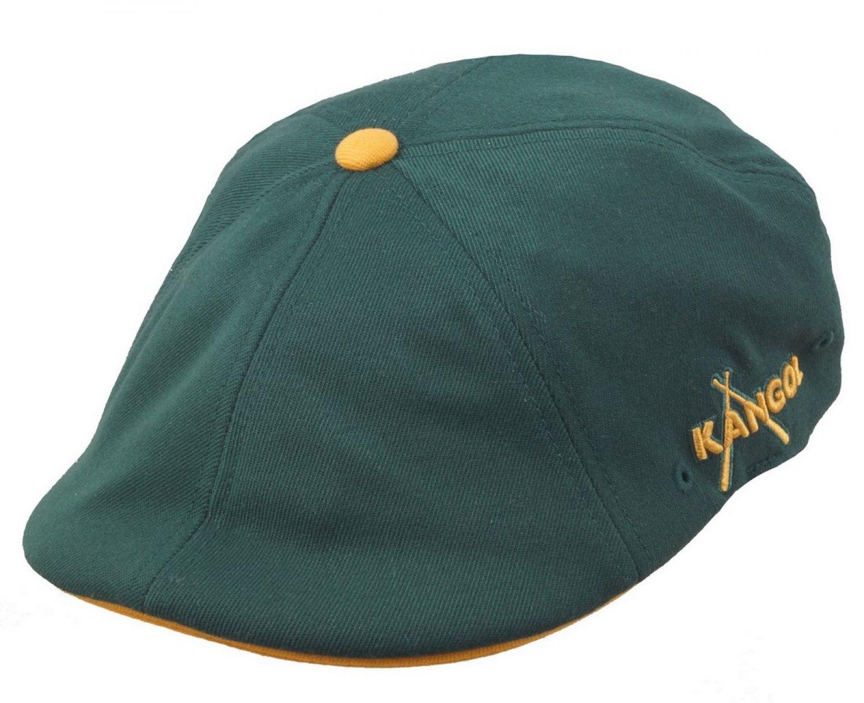 KANGOL WOOL 504 Flatcap wein rot Wolle Mütze Cap Pepe Golfcap Kangolcap Neu