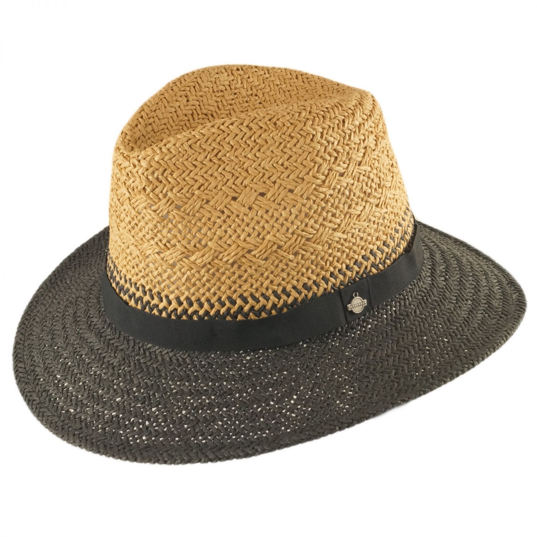 Seeberger Damen Sonnenhut knautschbar Sommer Strohhut Fedora Strandhut Hut