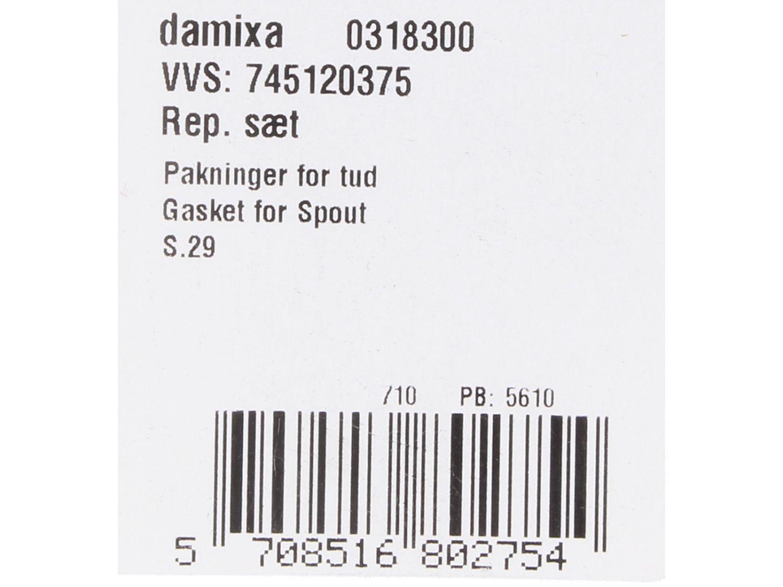 Damixa Dichtungsset für Schwenkarm Serie ARC 03183