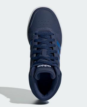 Adidas Hoops Mid 2.0 Inf Mädchen Sneaker High Top Katzen Blue Mint Gr 22 | eBay