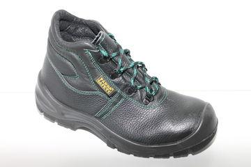 Details zu Panda Safety Shoes Sicherheitsschuhe S3 Leder Schwarz Gr 40 46