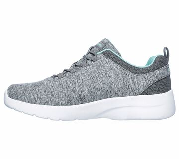 Details zu Skechers Dynamight 2.0 In a Flash, Damen Sneaker Gray Mint, Gr. 37 41