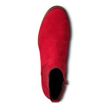 competitive price 94149 42502 Details zu Jana Soft Line Damen Chelsea Boots Stiefelette Weite H Chili,  Gr. 36 - 41