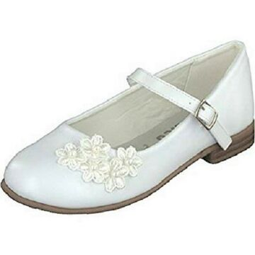 39 Indigo Mädchen Ballerina Glitzer Kommunion White 33 Gr