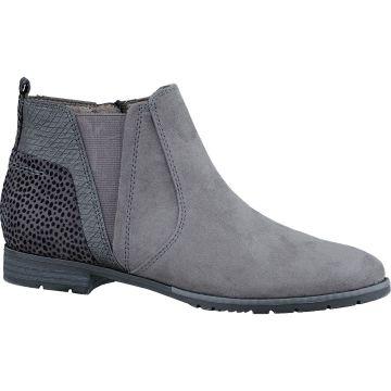 sale retailer 702c9 e4971 Details zu Soft Line-JANA, Damen Chelsea Boots Weite H Graphite,  SONDERPREIS, Gr 36 - 40