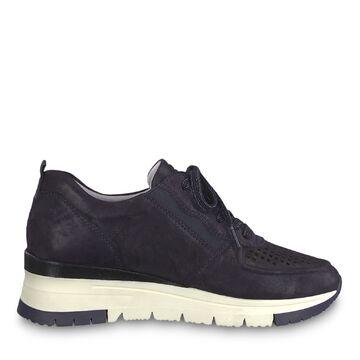 Details zu Tamaris Neele Pure Relax, Damen Sneaker Wechselfussbett Navy Metallic, Gr. 37–41