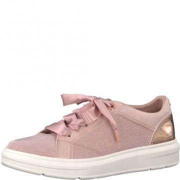 s.Oliver Damen Schnürschuhe Sneaker Soft Foam Metallic Rose Comb Gr 37 - 41 c4c2438be7
