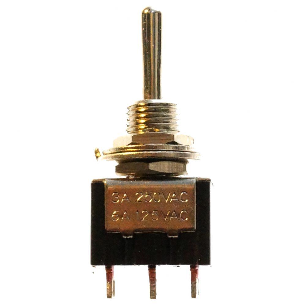 Mini Kipp-Taster  3Pins Funktion Tast-Aus-Schalt Minikippschalter